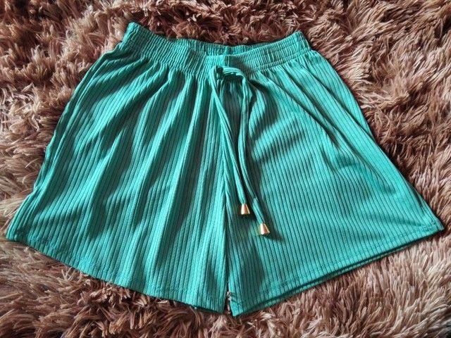 Shorts Canelados Adultos - Foto 5
