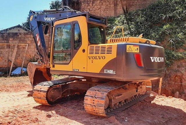 Escavadeira Volvo EC140B (entrada+parcelas) - Foto 2