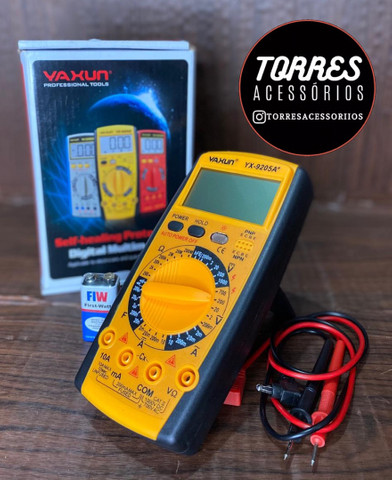 Multímetro Digital e Capacímetro Multilaser  - Foto 2