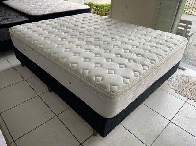 cama box queen size - Maxflex - conforto - qualidade - beleza
