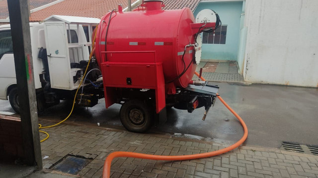 Tanque novos para banheiro químico e limpa fossa bomba de vacuo - Foto 2