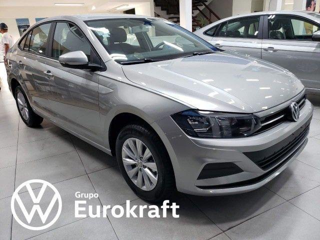 VW Virtus 1.6 MSI automático 2022 Zero KM - Foto 3