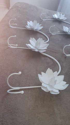 Chapeleiro flores metal - leia todo o anúncio - Foto 2