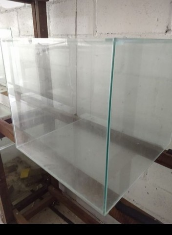 Aquário 50x50x45 - vidro de 5mm- 112 litros. - Foto 2