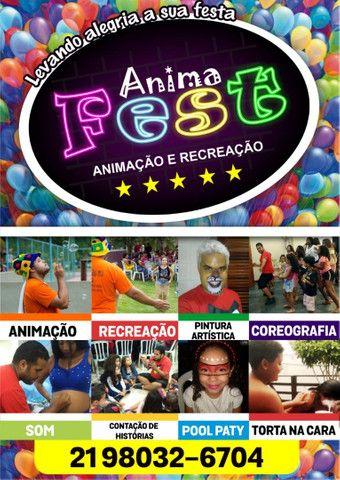 Animação e Recreação - AnimaFest