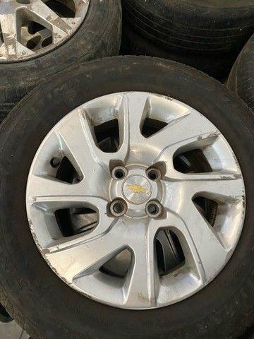 Roda 15 GM Chevrolet Corsa Celta Spin Cobalt Sonic Astra  - Foto 5