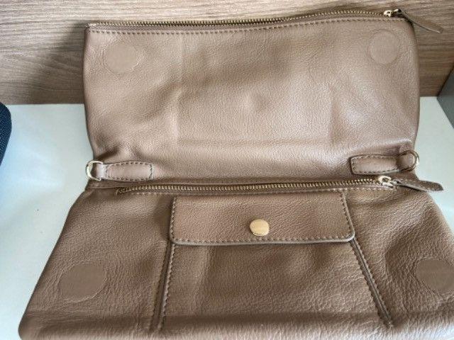 Bolsa nova arezzo couro com alça - Foto 2