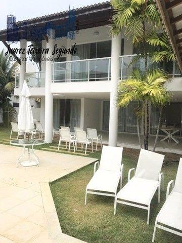 Casa 5 suítes em Guarajuba alto padrão finamente decorada a poucos metros do mar! - Foto 9