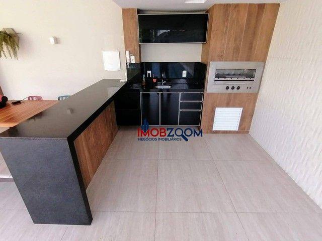 Apartamento com 3 dormitórios à venda, 76 m² por R$ 739.559 - Luciano Cavalcante - Fortale - Foto 20