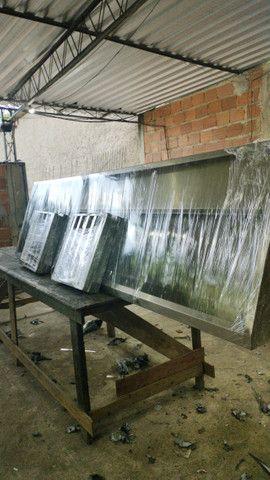 Coifas sob medida em inox com filtros - Foto 6