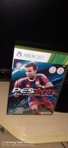 PES 2015 ORIGINAL XBOX 360 MIDIA FISICA