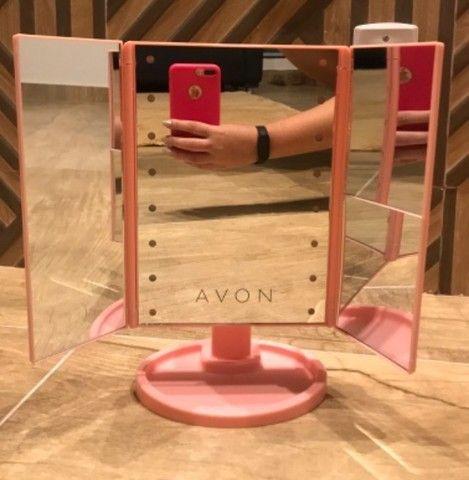 Promoção: Espelho De Mesa Com 16 Leds - Foto 2