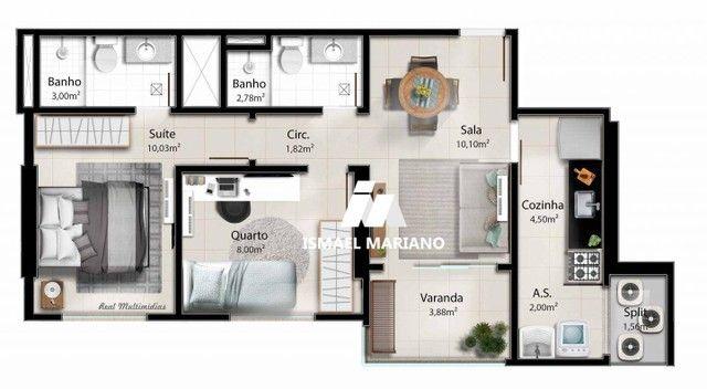 Apartamento à venda, 55 m² por R$ 347.000,00 - Praia de Itaparica - Vila Velha/ES - Foto 17