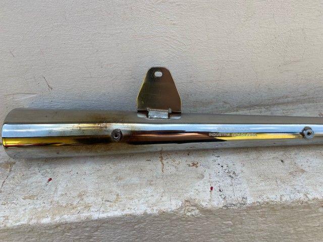 Escapamento Gemoto 2 abafadores para Titan 160/ Fan 160/ Start 160 - Foto 4
