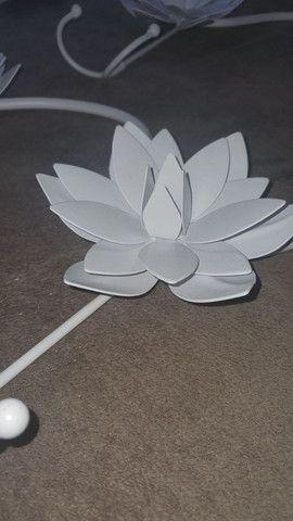 Chapeleiro flores metal - leia todo o anúncio - Foto 4