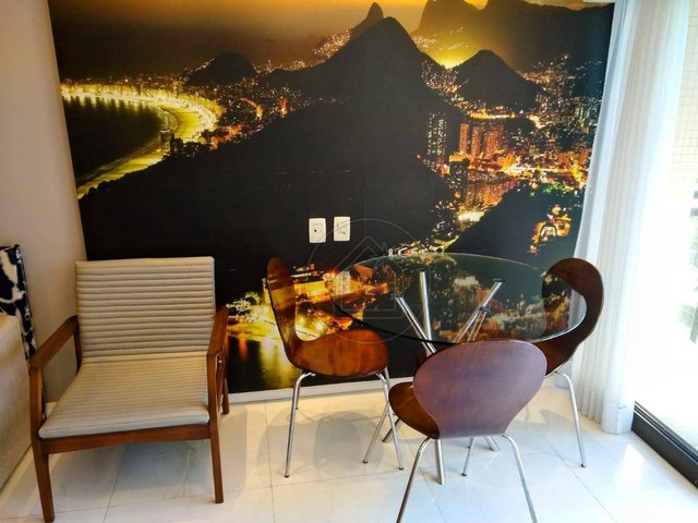 Flat com 1 dormitório à venda, 38 m² por R$ 1.400.000,00 - Leblon - Rio de Janeiro/RJ - Foto 4