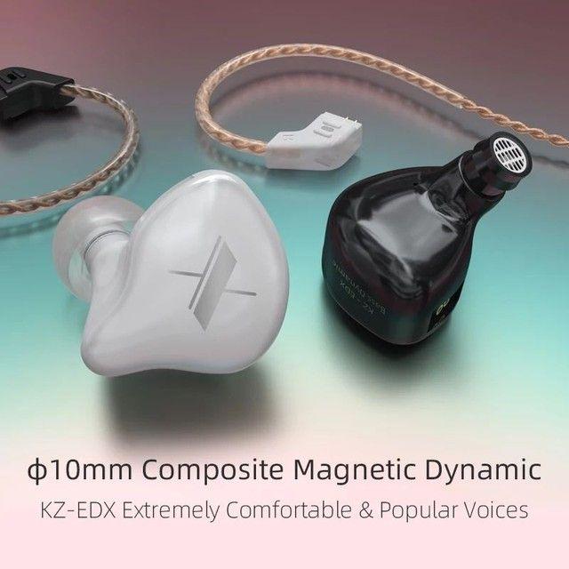 Fone de ouvido KZ EDX Novo ideal para retorno - Foto 3