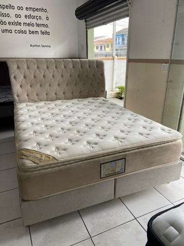 cama box queen size - Viscoelastic - entrego - Foto 5