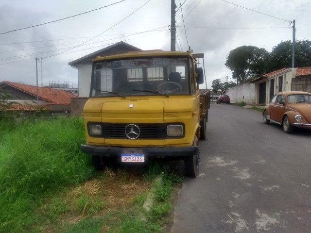 Caminhão 608 1977 pronto para trabalho - Foto 3