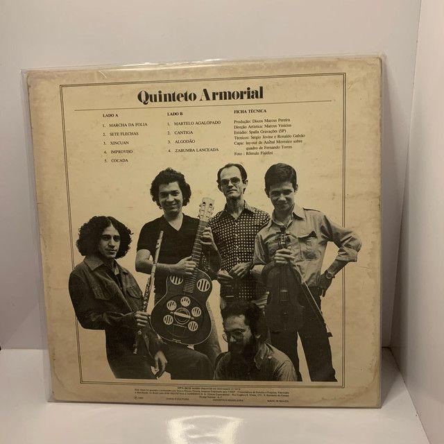Lp Sete Flechas Quinteto Armorial - Foto 2