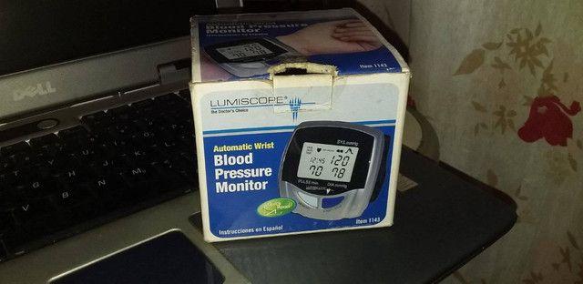 Monitor de pressão de pulso Lumiscope