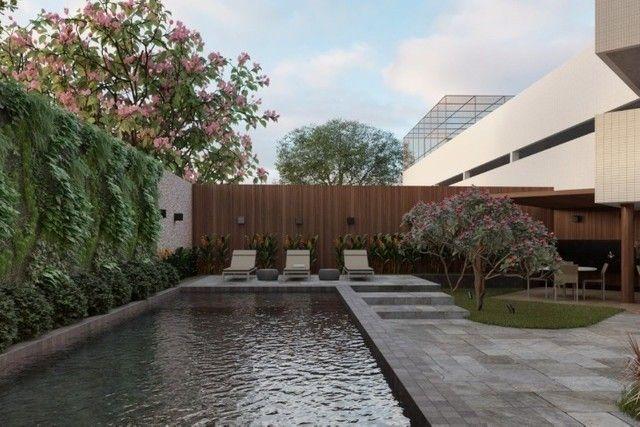 RB 081 Lançamento nas Graças | Apart, de 85m² com Varanda Gourmet | Edf. Dumont Garden - Foto 4