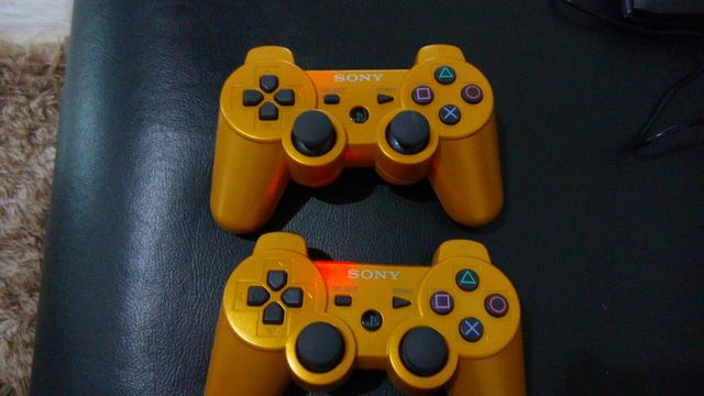 Controle PS3 S/Fio Dual Shock