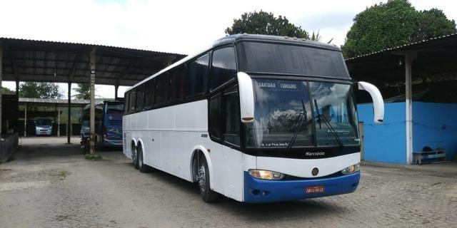 Ônibus Marcopolo Paradiso GV, frente e traseira G6. Oportunidade!