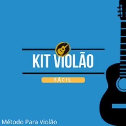 Aprenda a toca violão em sua residência,Kit Violão Fácil!