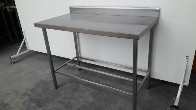 Mesa com 90cm para restaurante Preço Imbativel em Aço Inox