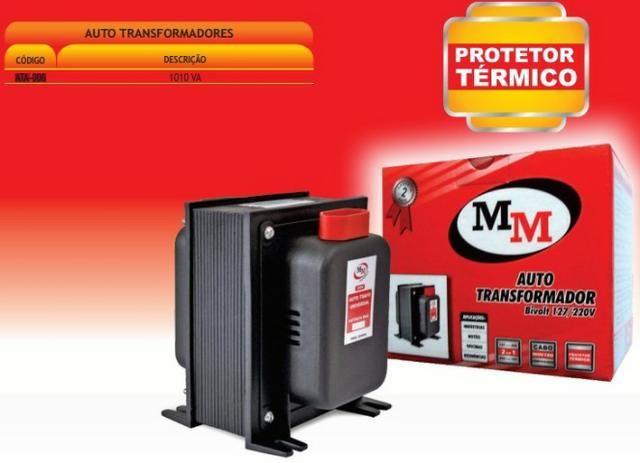 Transformador voltagem bivolt a 1010 va