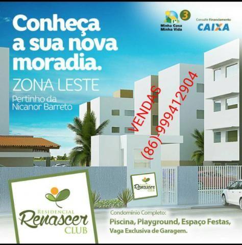 Apartamentos, Residencial Renascer Club, Zona Leste, Bairro Verde Lar