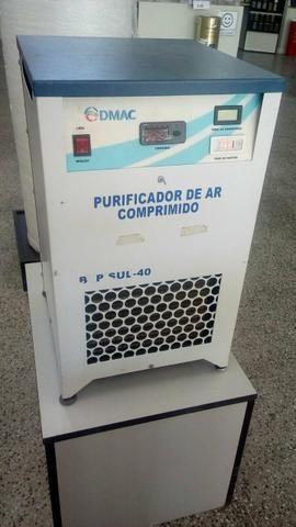 Secador de ar comprimido com purificador