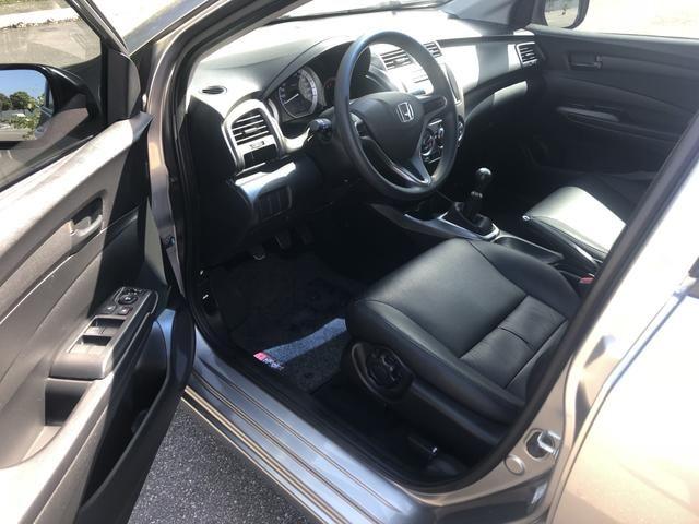 Honda City DX 1.5 cambio mecânico - 69.000 kM - Único Dono - 2013 - Foto 13