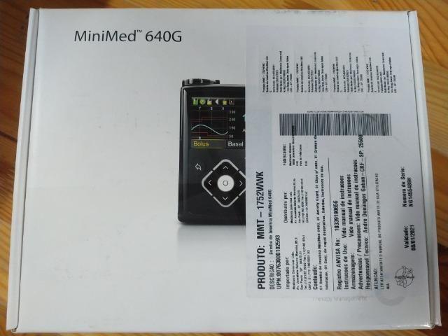 Bomba insulina Medtronic MiniMed 640G
