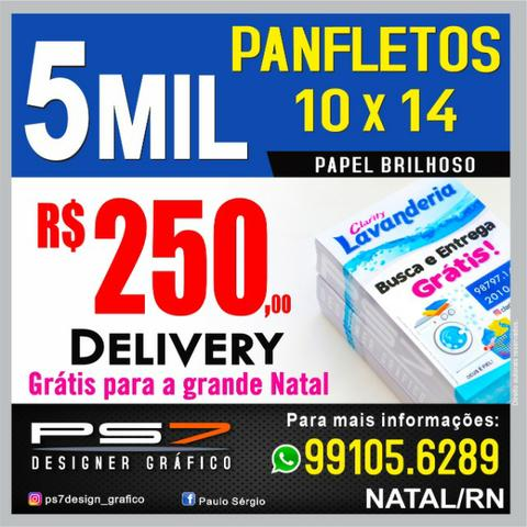 5 Mil Panfletos 10 X 14