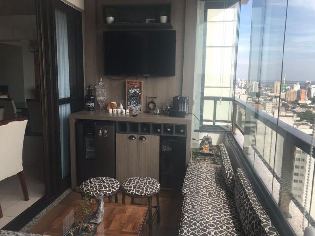 278 - goiabeiras tower - apartamento padrão 125m² com área gurmet completa - Foto 6