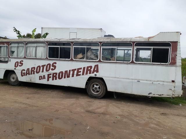 Ônibus 81 direção hidráulica Freio a ar