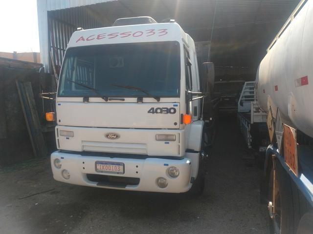 Ford cargo 4030 truck leito - Foto 11