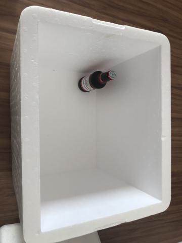 Caixa térmica de isopor 50x40x40