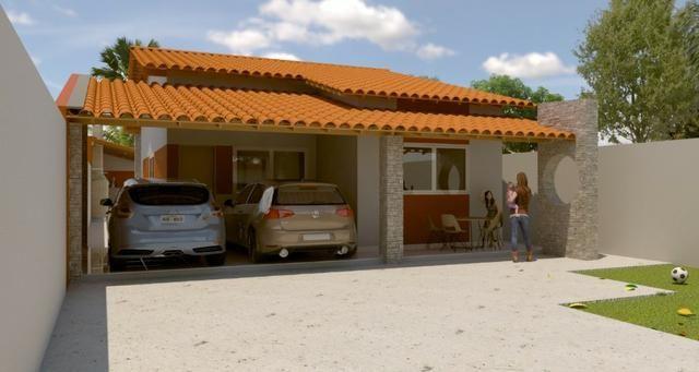Casa com Churrasqueira e Piscina . Bairro Planalto - Parnaiba