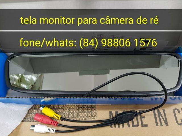 Tela monitor para câmera de ré