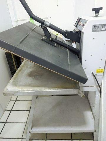 Prensa térmica plana + Impressora sublimática, estamparia completa! - Foto 2