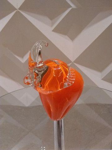 Elefante decorativo em cristal (20cm) - Foto 3