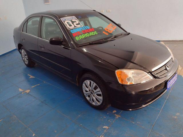 Honda Civic 2002 Manual 1.7 Era Assegurado Porto Seguro - Foto 3