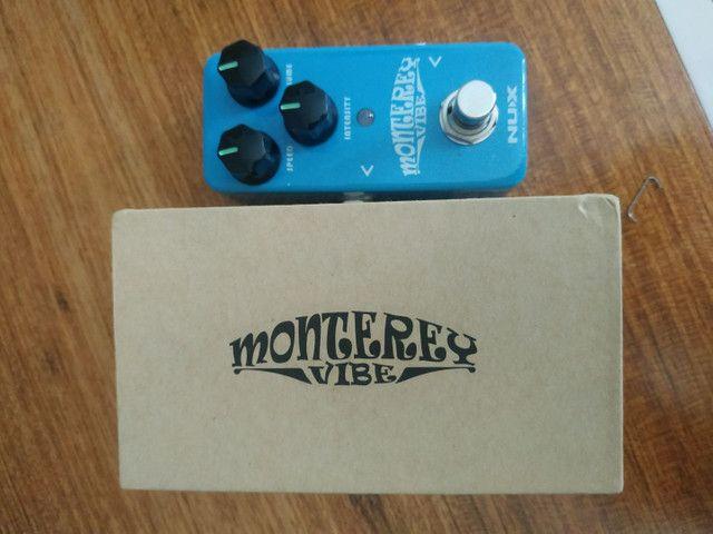 Pra vender rápido!! Nux Monterey Chorus/vibe e Vibrato Novíssimo na Caixa - Foto 2
