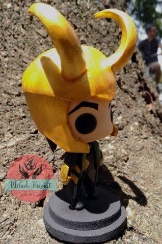 Loki da Marvel - Funko Pop Estilizado - Foto 2