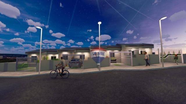 Casa com 2 dormitórios à venda, 50 m² por R$ 128.000,00 - Aparecida - Alvorada/RS