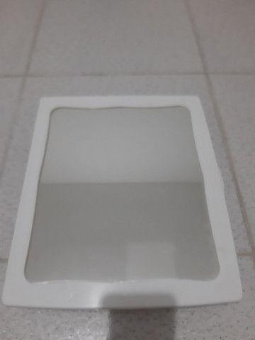 Armarinho de banheiro com espelho