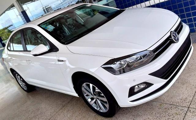 Novo Volkswagen Virtus Comfortline 2019-2020 - 19/20 - Branco Cristal - Foto 2